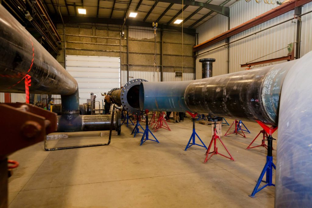 Experience Academy Fabricators - Industrial Pipeline, Pipespool, & Structural Fabrication - Alberta, Canada 3