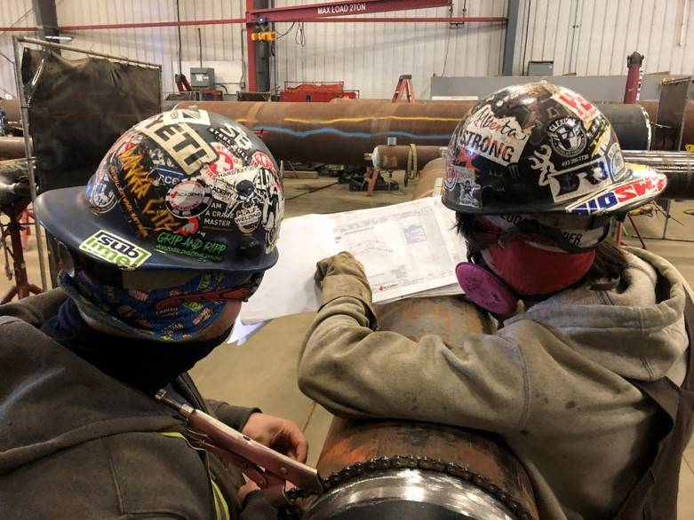 Values Drive Success Academy Fabricators - Industrial Pipeline, Pipespool, & Structural Fabrication - Alberta, Canada 4